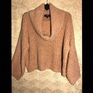 Express Cow Neck Sweater